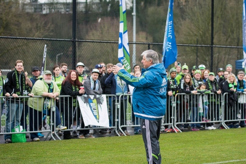 Sigi Schmid should be the first name raised to the Sounders' Ring of Honor