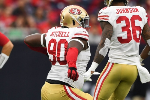 Report: 49ers will not pick up option on Earl Mitchell's contract