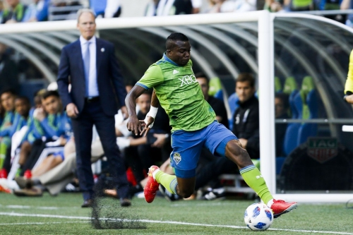 What's going on with Nouhou's absence from training camp?