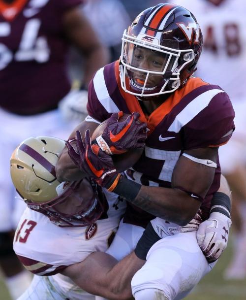 Virginia Tech running back Deshawn McClease transferring