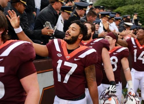 Virginia Tech quarterback Josh Jackson announces plans to transfer