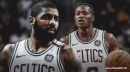 Celtics guard Terry Rozier on how Kyrie Irving helps in mental preparation every time he's out