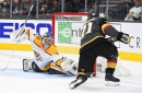 Year 2, Game 52: Golden Knights fire 48 shots on goal but suffer 2-1 loss to Predators
