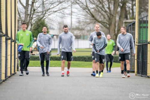 Photo Gallery: First Sounders Practice of 2019