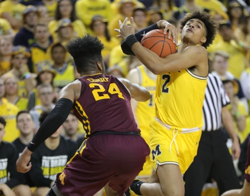 Michigan basketball's Jordan Poole a marked man and he likes it