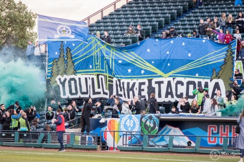 Rainiers and Sounders holding announcement about... we don't know