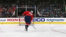 John Carlson launches one to win Hardest Shot contest