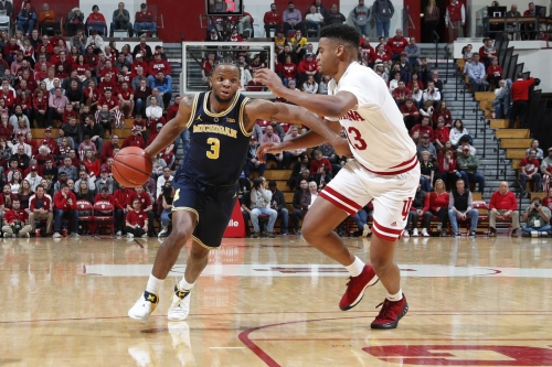 1/25 Big Ten Recap: Michigan Blows Out Indiana