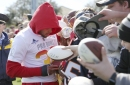 Phillip Lindsay at the Pro Bowl: Spectator this year, participant next year