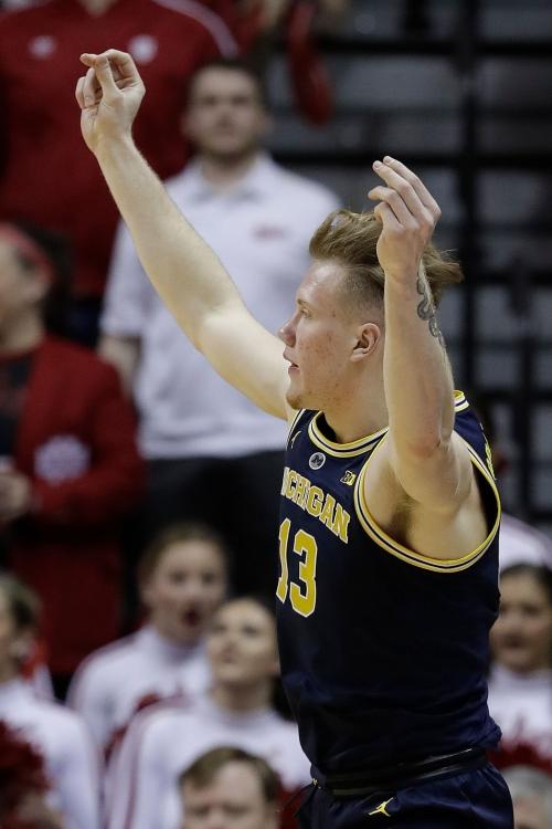 Michigan basketball's Ignas Brazdeikis: 'I love the hate I get'