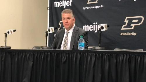 Purdue 73, No. 6 Michigan State 63: Matt Painter reaction