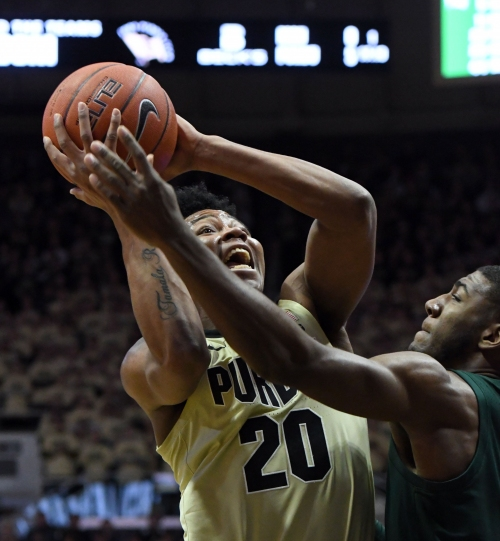 Purdue basketball beat Michigan State by showing what it learned from Spartans