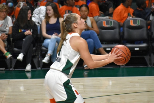 Non-Rev Roundup: Hurricanes WBB beats Eagles, M&W Tennis suffers first loss, Track torches in Texas