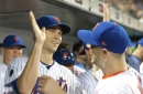 Jacob deGrom and David Wright were among the honorees at the BBWAA dinner