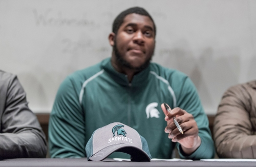 Michigan State football recruiting: Late loss of WR adds need for speed