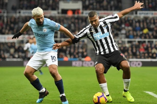 Man City fans furious after 'ridiculous' disallowed goal against Newcastle United