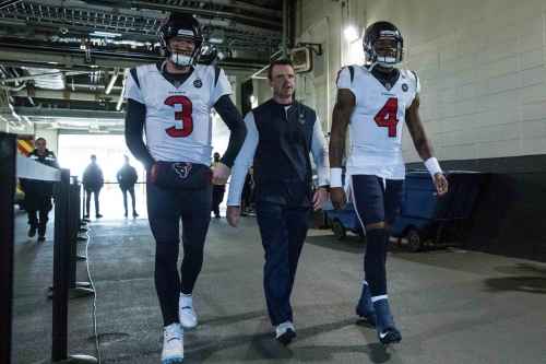Report: Lions hiring Texans QB coach Sean Ryan