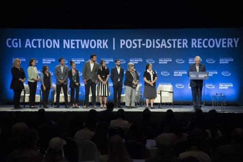 Bill Clinton pledges help for Caribbean after '17 hurricanes