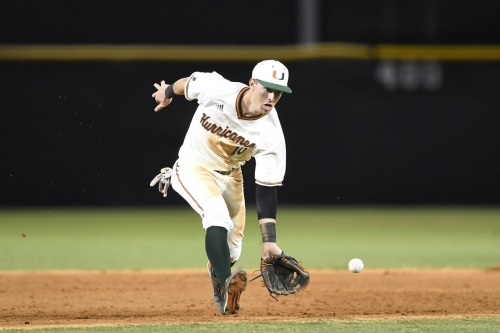 A Look at the 2019 Miami Hurricanes Infield
