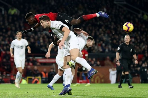 Paul Pogba slams lack of urgency as Manchester United rescue Burnley draw