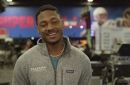Stefon Diggs gives his Super Bowl prediction and weighs in on who is the best WR in the NFL
