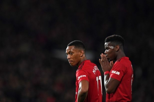 Manchester United give Paul Pogba and Anthony Martial injury updates