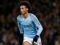 Manchester City winger Leroy Sane's record vs. Arsenal
