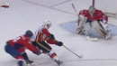 Mikael Backlund scores potential goal of season against Capitals