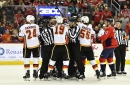 Rate the Flames (3) at Capitals (4): Late Goal Extinguishes Flames