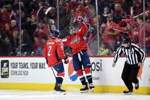 Capitals edge Flames without Ovechkin to end 7-game skid