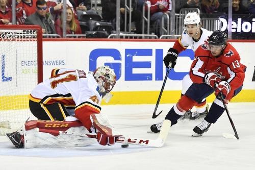 Calgary Flames (3) @ Washington Capitals (4): Flames Sluggish In First Game Back