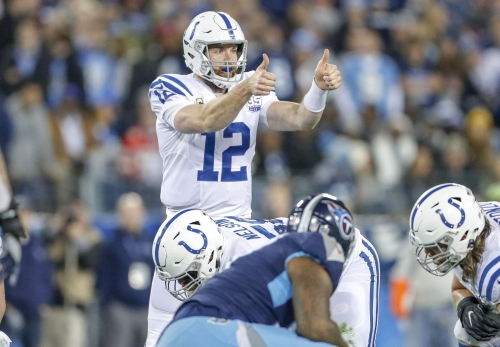 Colts quarterback Andrew Luck wins NFL Comeback Player of the Year