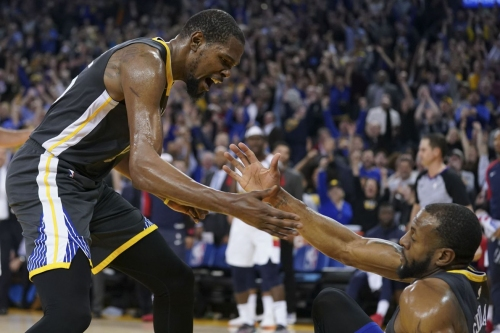 The Golden Breakdown: How Kevin Durant's passing provided stability against the Lakers