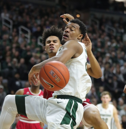 Rebounding was an issue for MSU basketball vs. Indiana. Here's why:
