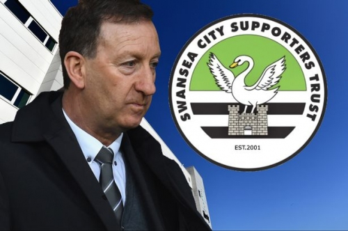 Swansea City Supporters' Trust deliver message to club's owners following Huw Jenkins' 'inevitable and necessary' resignation