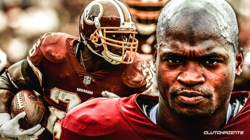 Redskins RB Adrian Peterson says he wants to play 2-3 more years