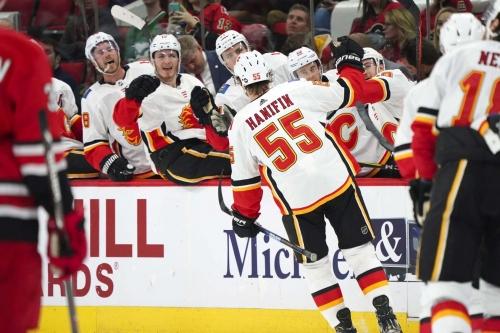 Calgary Flames (4) @ Carolina Hurricanes (3): Ex's And O(ffence)'s