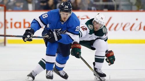 Jets' Jack Roslovic named NHL's first star of the week