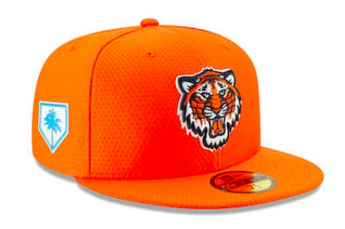 The Tigers' spring training caps are better than last year