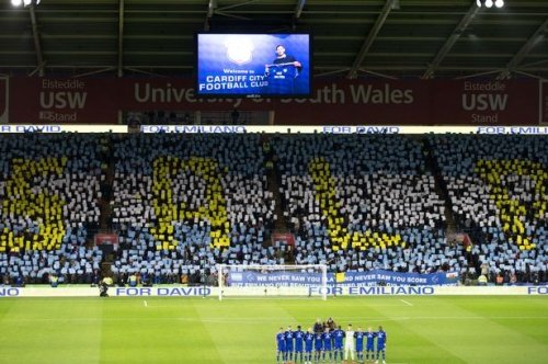 The inspirational Emilano Sala message fans want to see in the Cardiff City tunnel