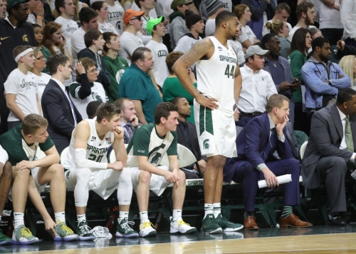 Michigan State is looking ahead, not back, to try and snap losing skid