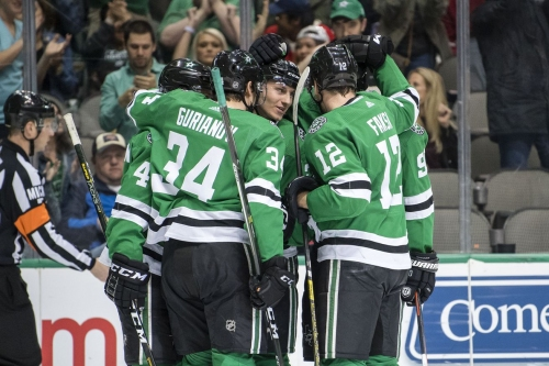 Stars Find Offense in Electric 5-4 Win Over Coyotes