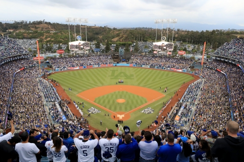 Report: Woman died after being hit by foul ball at Dodger Stadium