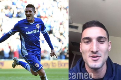The bizarre service former Manchester United and Cardiff City striker Federico Macheda is now offering for £38