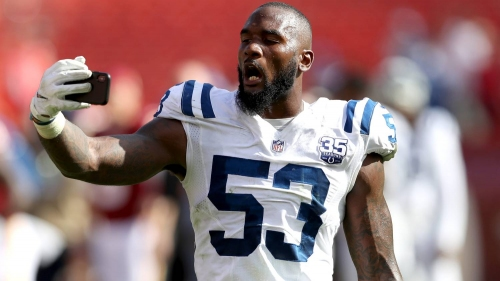 Colts linebacker Darius Leonard wants to get '10 times better'