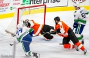Photo Gallery: Flyers vs Canucks