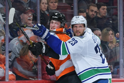 Vancouver Canucks Alexander Edler Out With Concussion