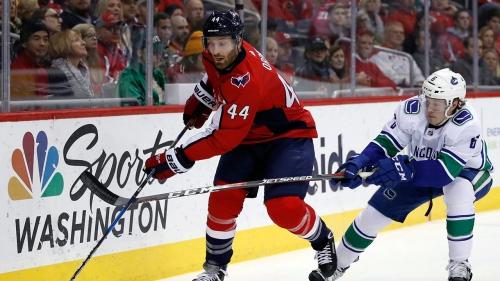 NHL Live Tracker: Canucks vs. Capitals