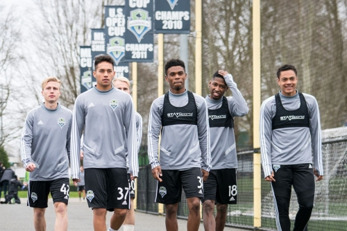 Young Defiance players get invaluable experience working with First Team coaches
