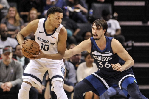 Grizzlies win two in a row, beat the Timberwolves, 108-106